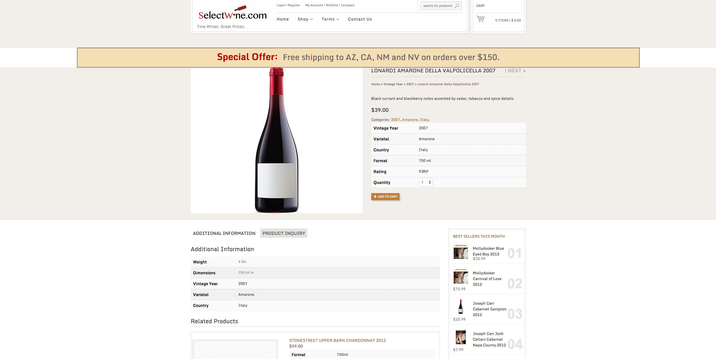 Select Wine – 2